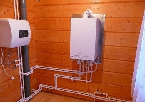 газовое отопление дома своими руками