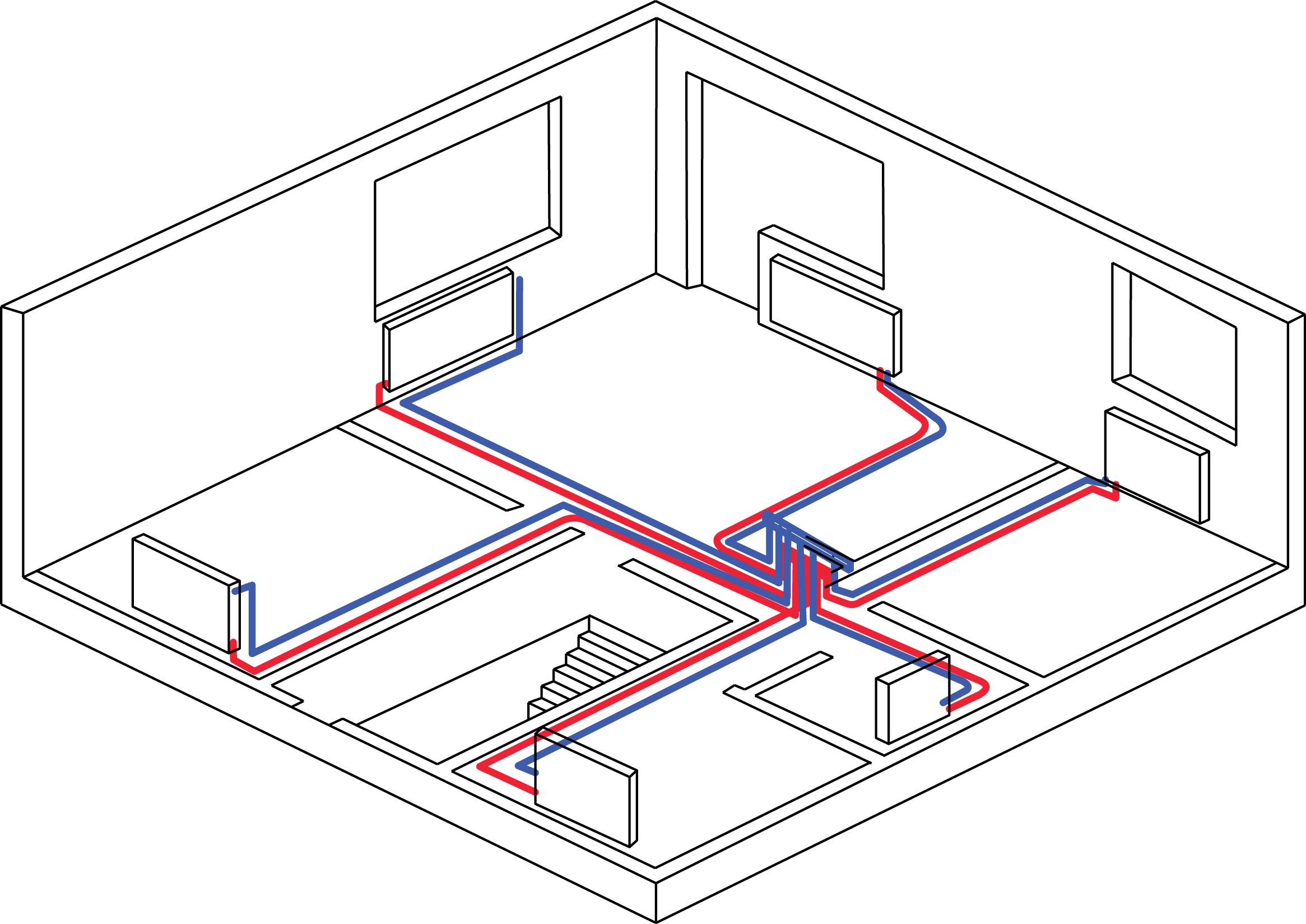 Коллекторная система отопления частного дома своими руками фото 85