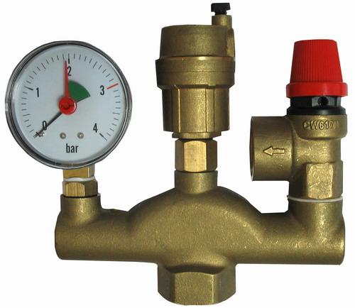 перепускной клапан в системе отопления