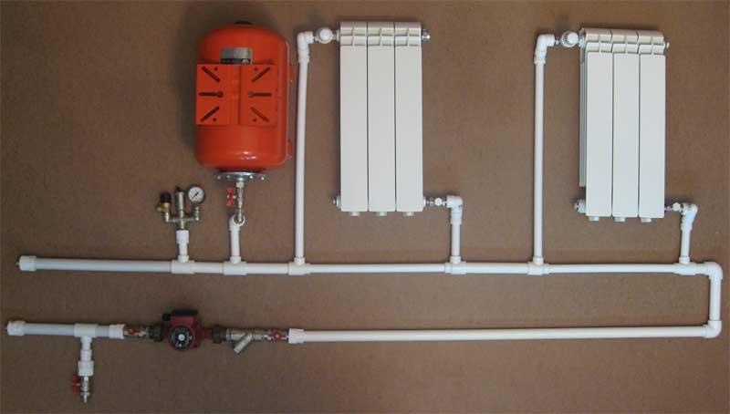 Водяное отопление монтаж своими руками 828