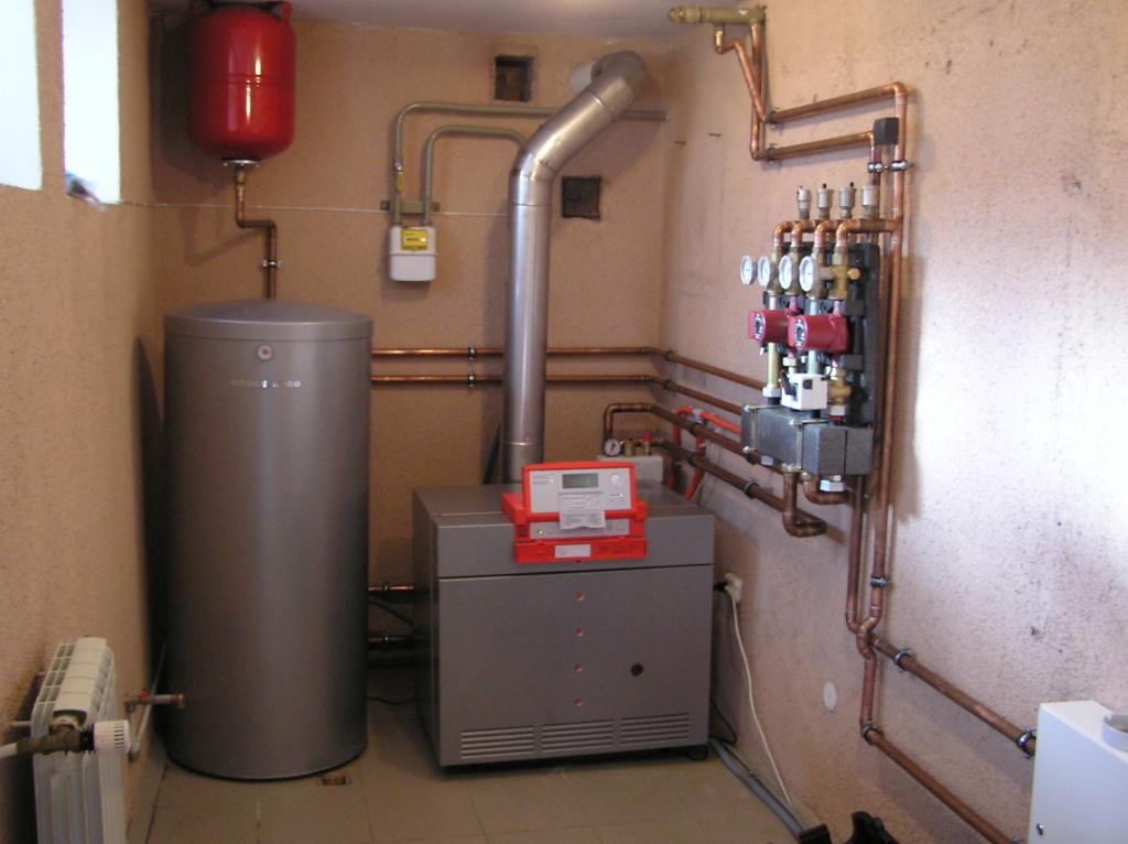 газовая котельная многоквартирного дома