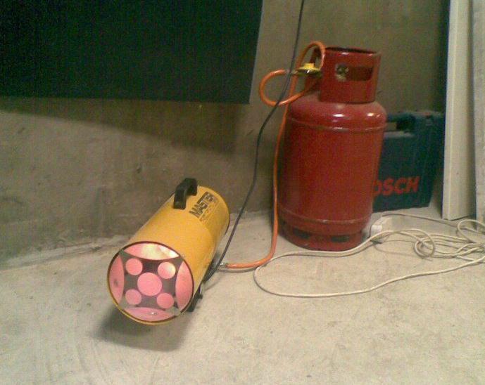 самодельная батарея отопления в гараж
