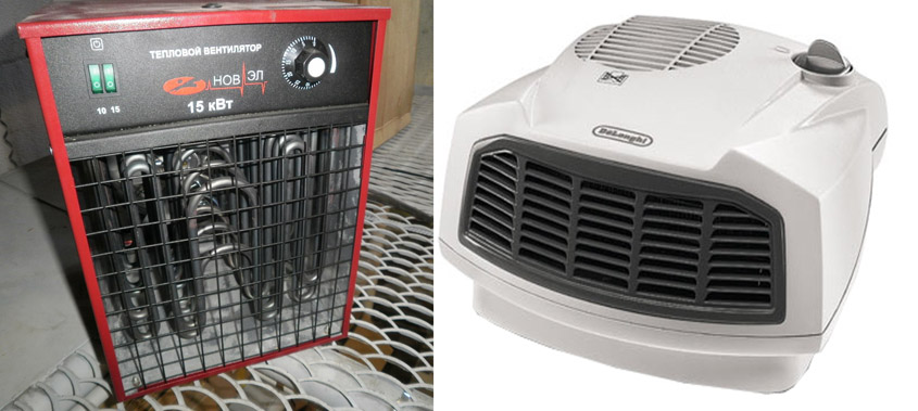 отопление гаража электричеством