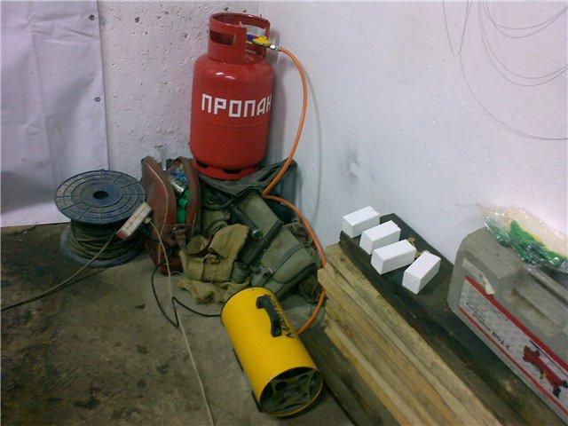 какое отопление лучше для гаража