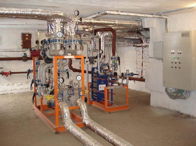 система автономного отопления дома