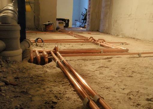 проекты отопления частного двухэтажного дома
