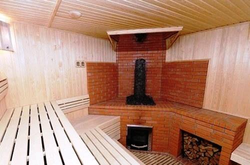 Отопление в бане. Печи