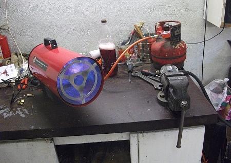 автономное отопление гаража своими руками
