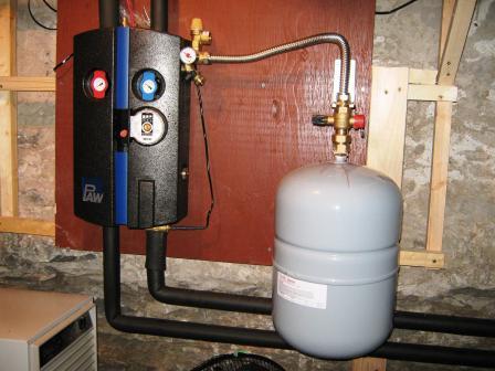отопление второго этажа частного дома