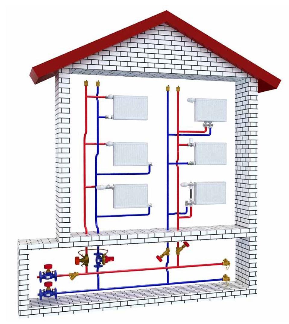 схема отопления частного дома- Форум Mastergrad