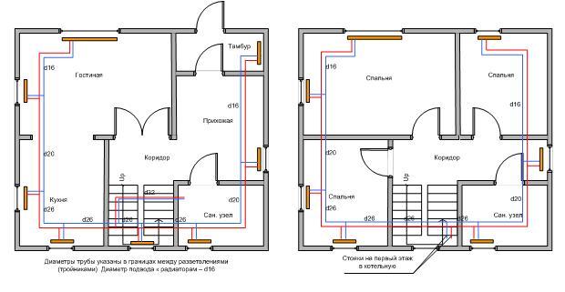 Дом чертежи и размеры схемы и проекты эскизы 73