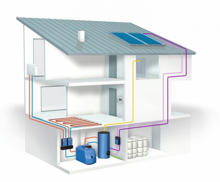 дизельное отопление загородного дома отзывы