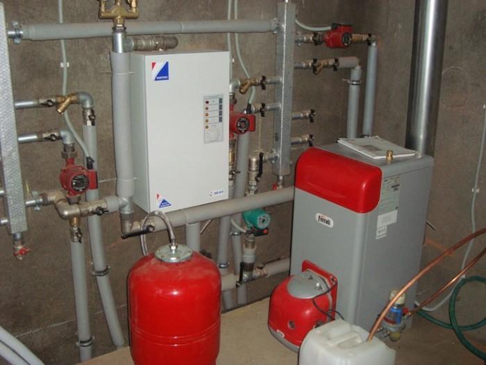 комбинированная система отопления
