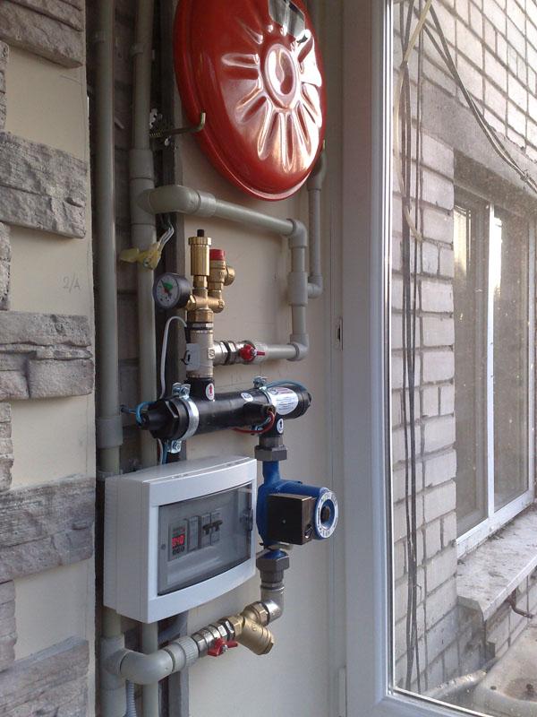 Подключение электрокотла к системе отопления, схема, монтаж,.