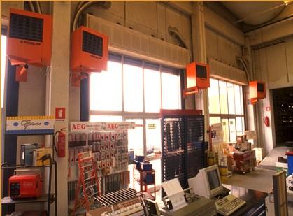 теплогенераторы газовые для воздушного отопления