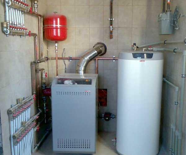 Газовые котлы для отопления частного дома своими руками