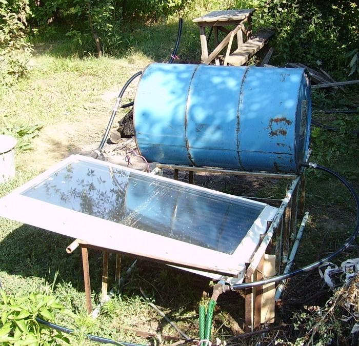 отопление загородного дома солнечными коллекторами