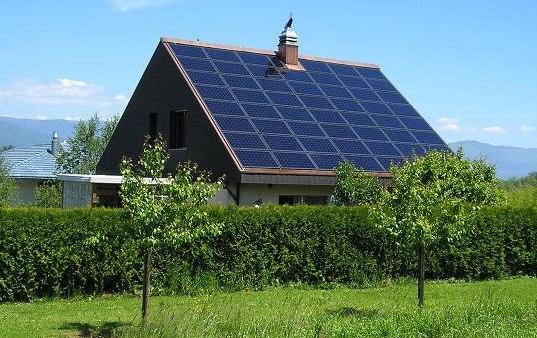 солнечное отопление частного дома