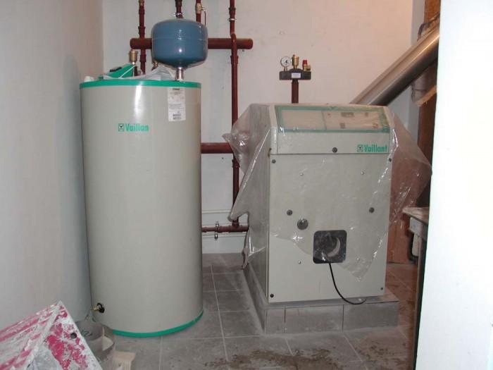 монтаж котлов отопления водоснабжения