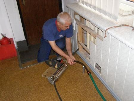 ремонт алюминиевого радиатора отопления