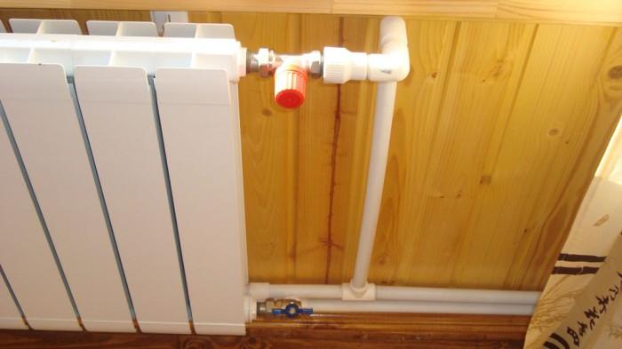 обвязка радиаторов отопления