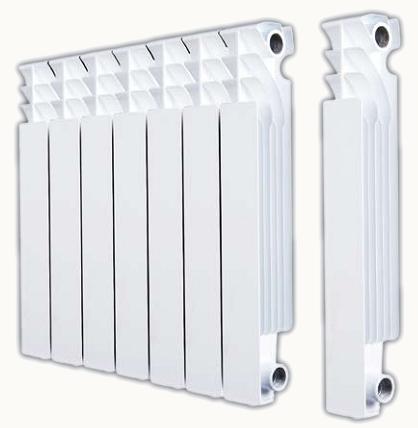 размеры алюминиевых радиаторов отопления