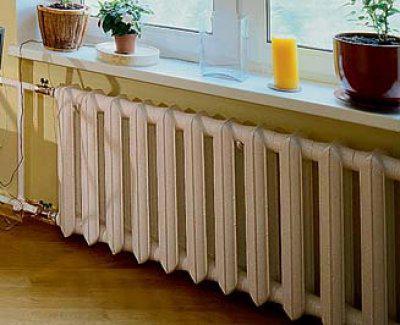 Наращивание и перенос радиаторов отопления