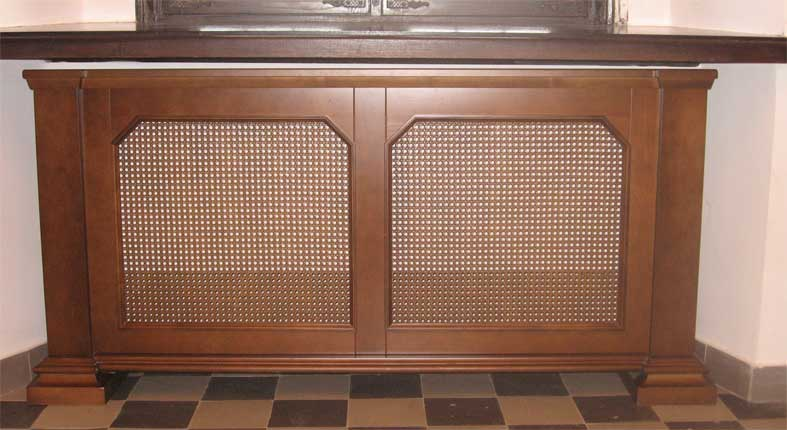 Декоративные экраны для батарей отопления