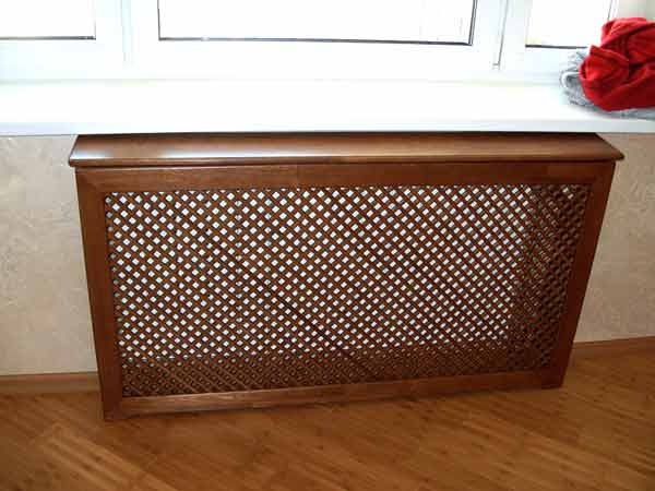 деревянные решетки на радиаторы отопления