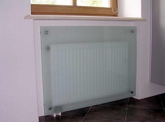 экраны на радиаторы отопления фото