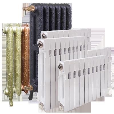 сравнение радиаторов отопления таблица