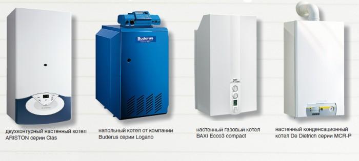 электронезависимые газовые котлы отопления