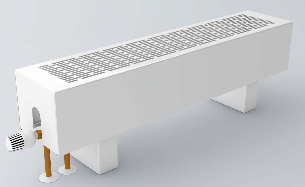 Водяные напольные конвекторы отопления