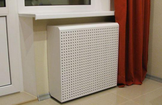 пластиковые решетки для радиаторов отопления