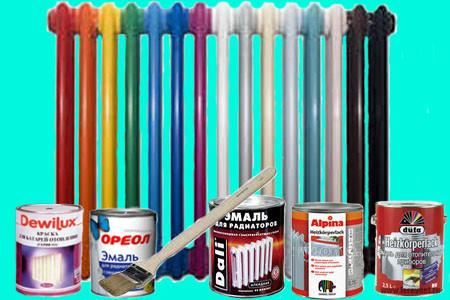 Краска для радиаторов отопления