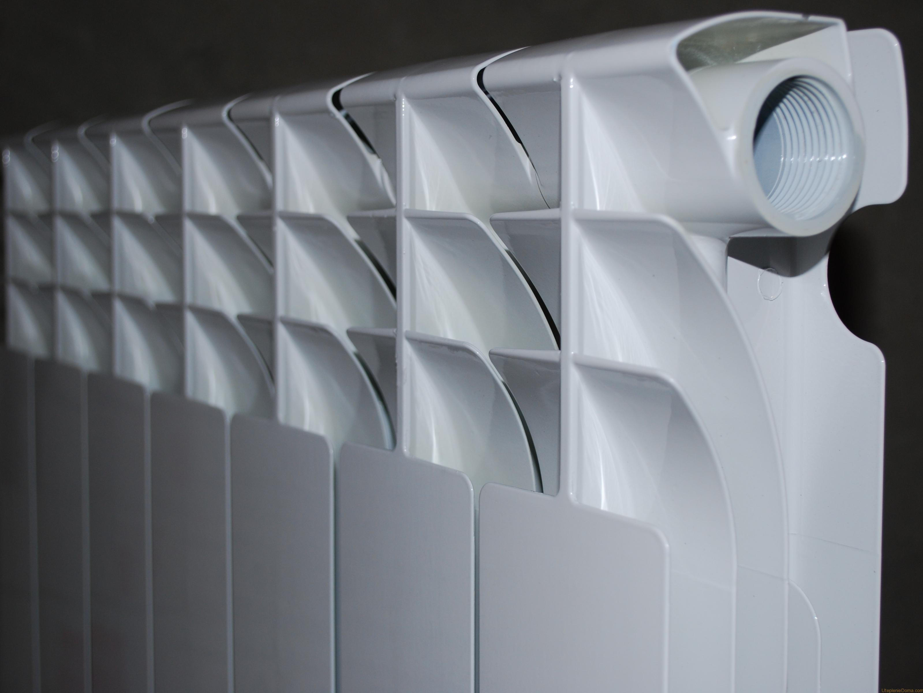 Технические характеристики биметаллических радиаторов отопления
