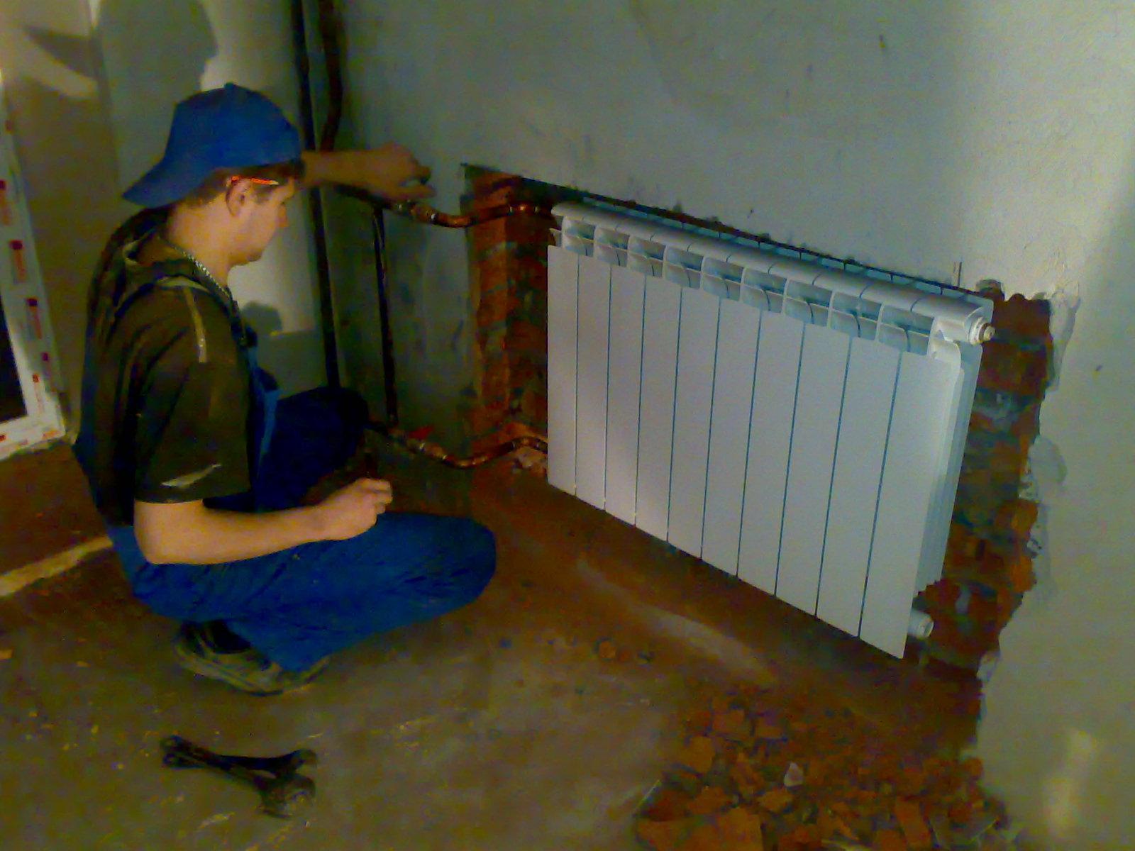 Замена отопление в квартире своими руками