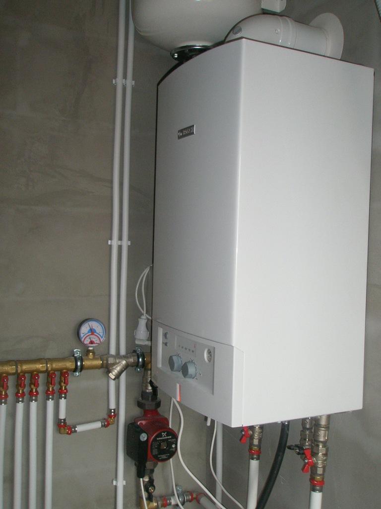 газовое воздушное отопление