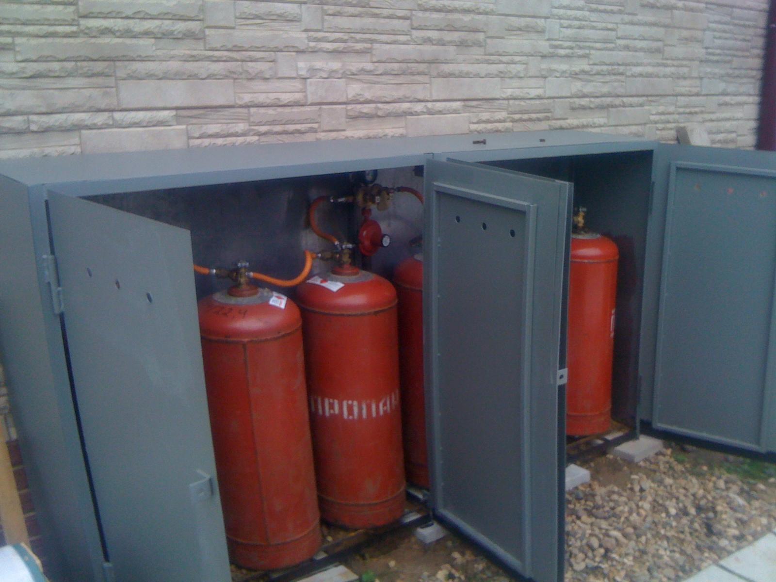 отопление дома баллонным сжиженным газом