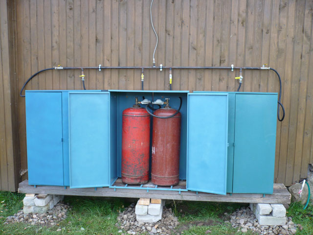 газовая система отопления загородного дома