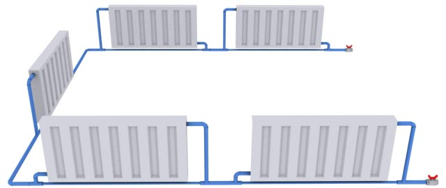 Система отопления частного дома своими руками: способы и правила монтажа