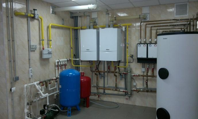 самотечная система отопления частного дома