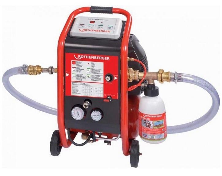 компрессор для промывки отопления