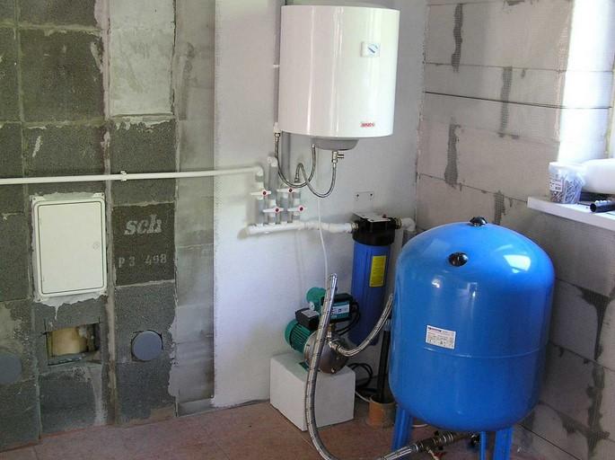 буферная емкость системы отопления