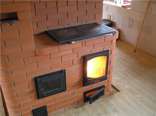 печи отопления на твердом топливе