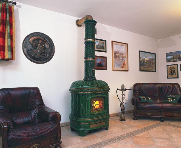 конвекционная печь для отопления