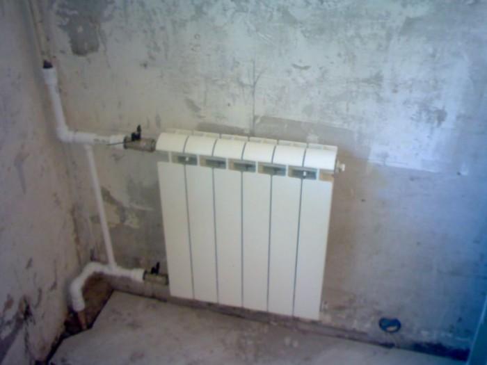 замена отопления в квартире