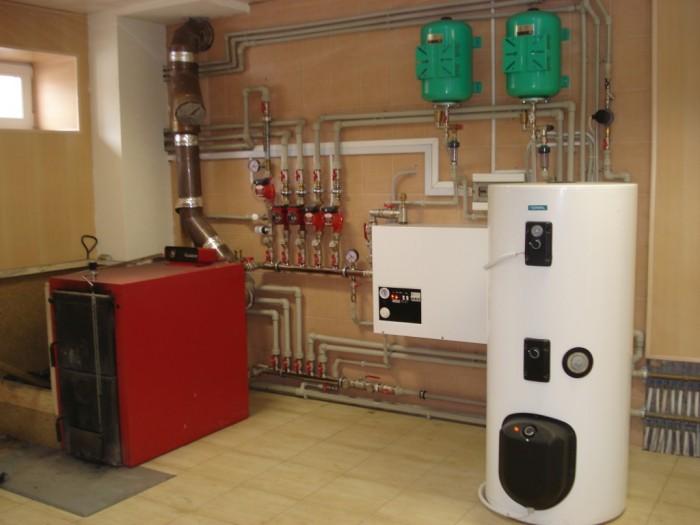 комбинированные системы отопления частного дома