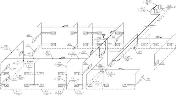 как рассчитать объем системы отопления