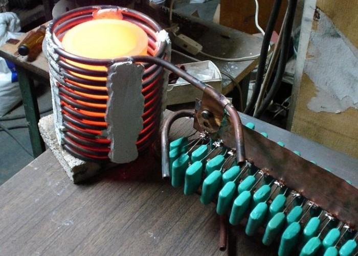 индукционные котлы отопления своими руками